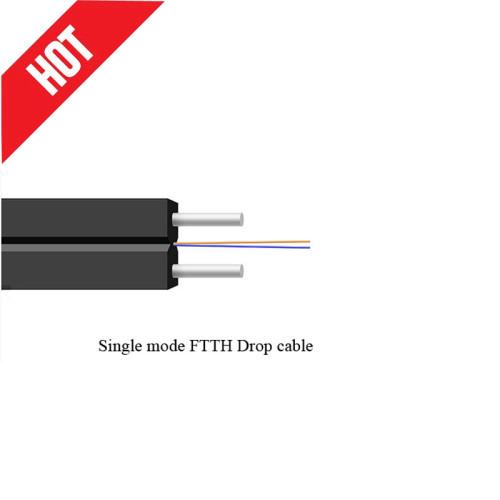 Cable de fibra óptica FTTH monomodo disponible del precio de fábrica del OEMFactory