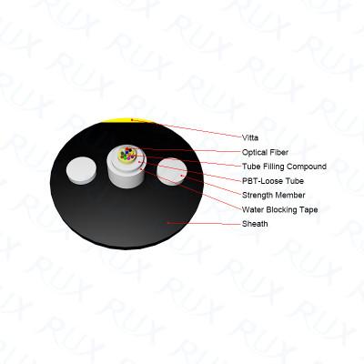 Cable de fibra óptica 1 km Precio Unitube Cable de fibra óptica GYFXY con Vitta