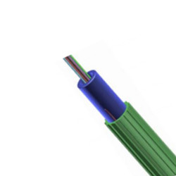 Cable de fibra óptica soplado aire Super Mini de 2 a 144 fibras