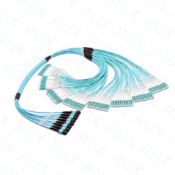 MPO/MTP Pre-terminated Multifibers Cables of 12/24/36/48/72/96/144-fibers SM/OM1/OM2/OM3/OM4