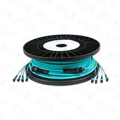 Cables multifunción preterminados MPO / MTP Cables de 12/24/36/48/72/96/144 fibras SM / OM1 / OM2 / OM3 / OM4