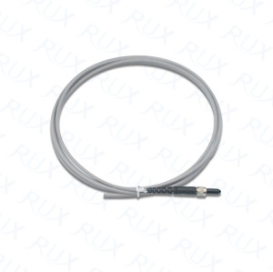 Pigtail of 400µm Core Glass Fiber Optic Cable with SMA905 Connector.