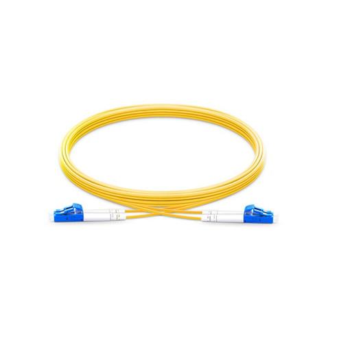 LC / UPC - LC / UPC 9/125 Cable de conexión dúplex PVC / LSZH de 1/2 / 3m