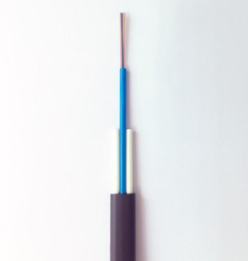 Cable de fibra óptica plana de un solo modo no metálico 1-24 núcleos disponibles