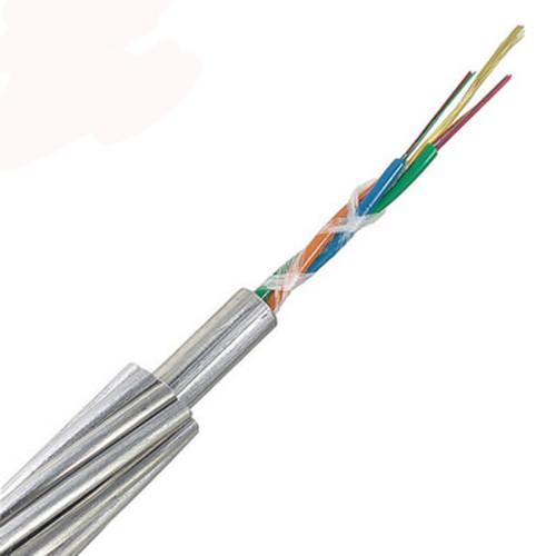 OPGW (Cable de conexión a tierra compuesto de fibra óptica) 6 ~ 288 núcleo