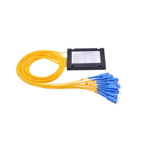 FTTH 1*4 1*8 SC/UPC ABS Box PLC Splitter