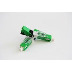 Mechanical Fiber Optic Connector-Fiber Pre-embeded ESC250D/APC ESC250D/UPC Fast Connector