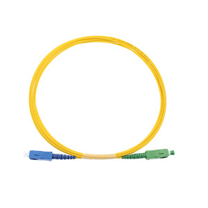 SC/APC- SC/UPC simplex fiber optic patch cord