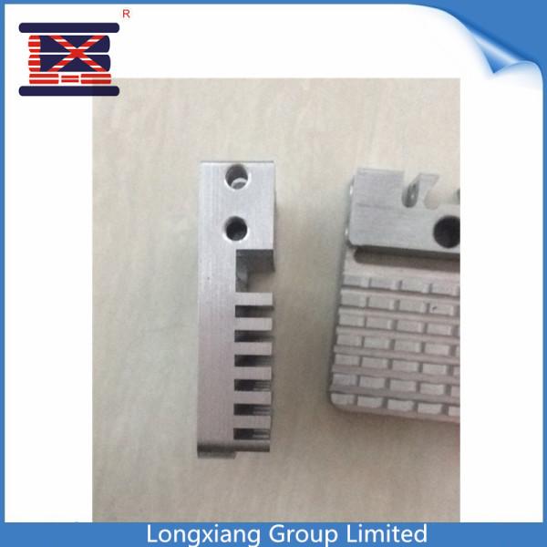 Longxiang Aço de alumínio CNC Usinagem Peças de serviço Fresagem de peças de alumínio anodizado usinado Rapid Prototype