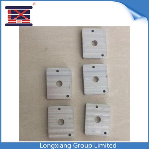 El servicio de mecanizado del CNC del acero de aluminio de Longxiang parte las piezas de aluminio anodizadas trabajadas a máquina que muelen el prototipo rápido