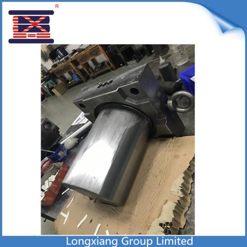 La poubelle faite sur commande de Longxiang ABS / pp a moulé des pièces en plastique moulées par injection