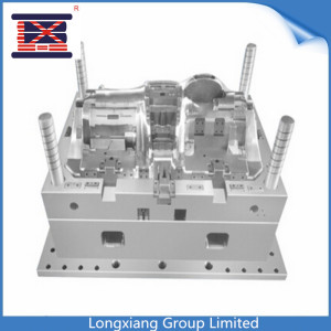 Longxiang Fabricación de piezas de inyección personalizada Fabricación de productos de plástico para el hogar Base de silla de oficina Molde de base