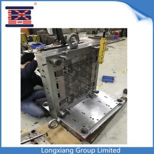 Longxiang benutzerdefinierte Kunststoffpalette Moud heiß verkaufen ineinandergreifende leichte Palette mit Patent