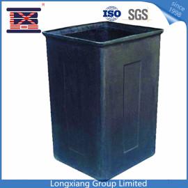 Custom plastic waste bin injection mold maker