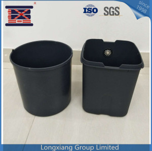Custom made wholesale eco friendly plastic waste container trashcan garbage can dustbin waste bin