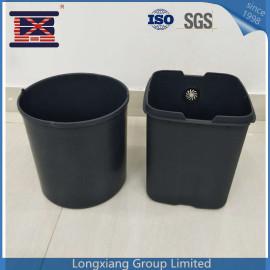 Cubo de basura plástico amistoso hecho a la medida del basurero del cubo de basura basura del cubo de basura del envase al por mayor