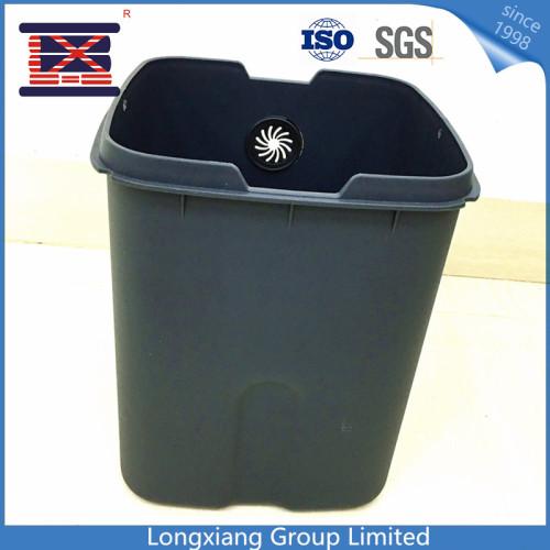 Fait sur commande en gros écologique amical poubelle en plastique poubelle poubelle poubelle poubelle