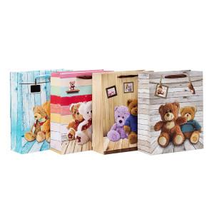 Juguete osos bolsas de regalo de baby shower con 4 modelos surtidos en Tongle Packing