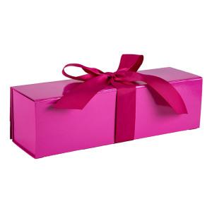 Cajas de regalo de color sólido de alta calidad con empaquetado plano en embalaje de Tongle