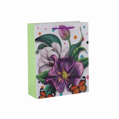 Boutique Baby Kleine Papier Geschenk Taufe Verschiedene Größen Papier Geschenktüte mit 4 Designs Assorted in Tongle Verpackung