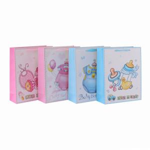 ベビー布カスタム印刷されたギフトバッグは、4つのデザインのTongleパッキングで盛り付け