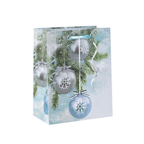 Neue kommende attraktive Art-Papierweihnachtstasche auf Verkauf mit 3 Auslegungen sortierte in der Tongle-Verpackung