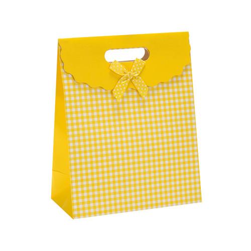 Bolso de papel de encargo del caramelo del regalo del velcro con 4 diseños clasificados en embalaje de la llave