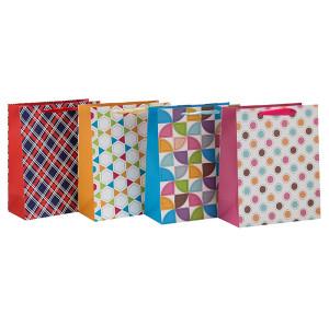おしゃれな色のデザイン折り畳み式リボンのハンドバッグ