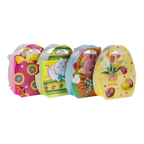 Bester Preis-Qualitäts-fantastischer Entwurfs-nette Tier-Einkaufspapiertüte mit 4 Entwürfen sortierte in der Tongling-Verpackung