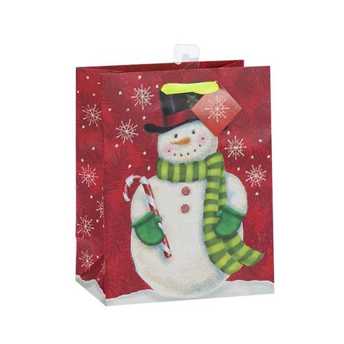 Neuestes verkaufendes hochwertiges fantastisches Entwurfs-Papierweihnachtsgeschenktasche mit 4 Entwürfen sortierte in der Tongle Verpackung