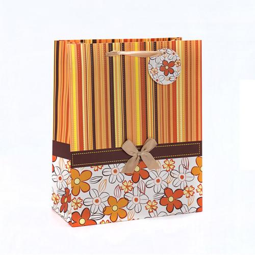 La bolsa de papel de empaquetado impresa costumbre de la aduana con la etiqueta de la caída con diverso tamaño con 4 diseños clasificó en embalaje de la llave