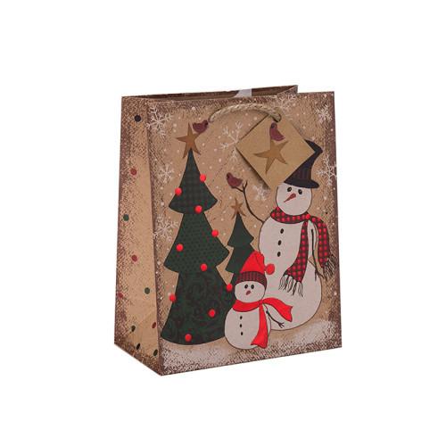 Bolso de papel de encargo del tamaño de encargo respetuoso del medio ambiente del precio de fábrica con diverso tamaño con 2 diseños clasificados en embalaje de la llave