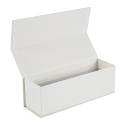 High quality magnetic closure flat packed cardboard paper packaging gift box in Tongle Packing