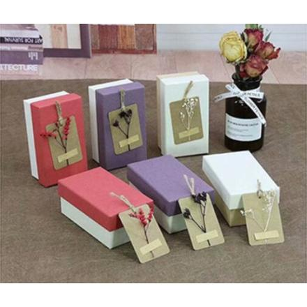 New Rectangular Paper Gift Boxes