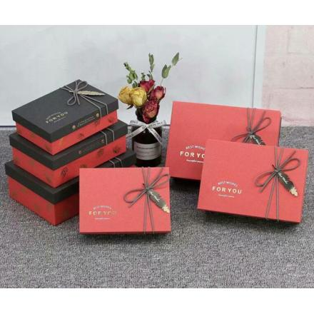 New Arrivals 3pcs Per Set Custom Paper Boxes