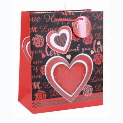 Valentine's Day Custom Paper Gift Bag