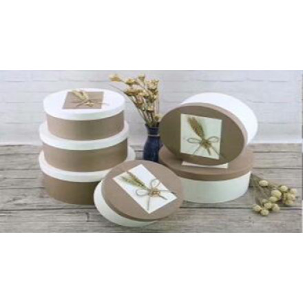 New Arrival Stock Quality Round Paper Box