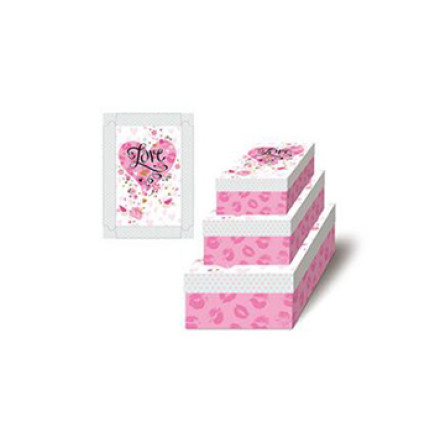Happy Valentine's Day Paper Gift Box