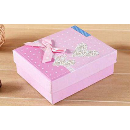 New Arrival Square Bow Cardboard Gift Box