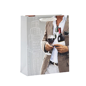 High Quality Cardboard Paper Gift Bags For Man