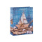 Welcome on board nautical blue ocean paper gift bags with 4 designs assorted