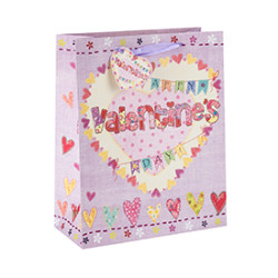 New Design Love Paper Gift Bags and Shopping Bags For Valentine's Day