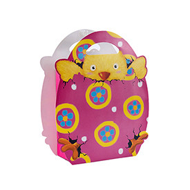 Happy Easter Best Price High Quality Fancy Design Cute Animals Fancy Paper Bags with 4 Designs Assorted