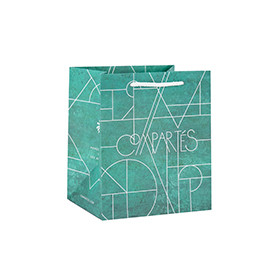 Professional Manufacture Customized Own Logo Design Paper Bags with 3 Designs Assorted