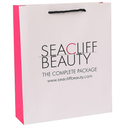 Custom Cosmetic Shopping Paper Bag