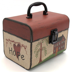 Wholesale Vintage Traveler Suitcases Set/2 Paperboard Suitcases With Handle And Clasp