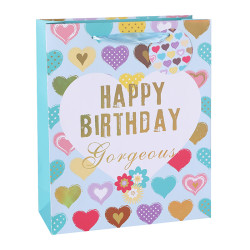Colorful Ladies Birthday Gift Bags Paper Shopping Bags Bestsellers And Wholesales