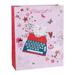 Save on Paper Valentine's Day Bags With The Lowest Wholesale Prices 4 Models Assorted