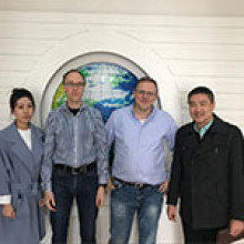Welcome German Customers To Visit Our Factory Again