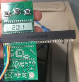 temperature detective circuit board